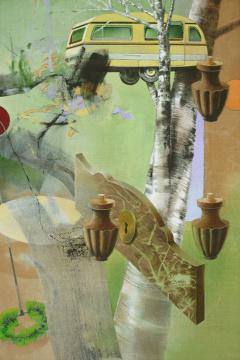 Frühlingsanfang, 2011, Acryl auf Leinwand, 210 x 140