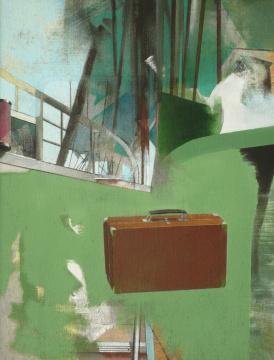 Aufbruch, 2008, Acryl auf Leinwand, 130 x 100 cm
