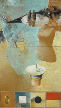 Abi ´08, 2009, Acryl auf Leinwand, 200 x 115 cm