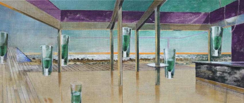 Strandcafé Areia Branca, 2016, A/L, 60 x 140 cm