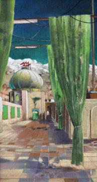 Iranischer Feiertag, A/L, 110 x 60 cm