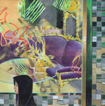 Möbelladen, Kashan, A/L, 70 x 70 cm