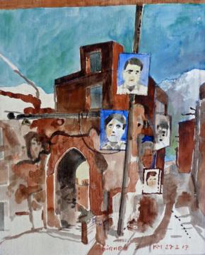Abianeh, Märtyrer, 27.02.2017, G,F/P, 30,5x 24,5 cm
