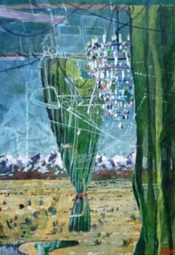 """zu """"Iran. Landschaft"""", 07.04.2017, G,F/P, 30,5x 24,5 cm"""